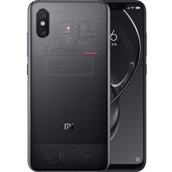 Смартфон Xiaomi Mi 8 PRO 128Gb+8Gb Transpered Black