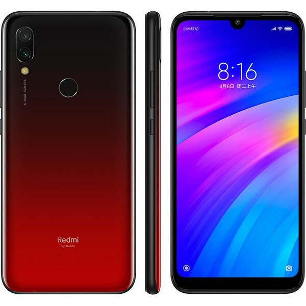 Смартфон Xiaomi Redmi 7 64Gb+3Gb Red