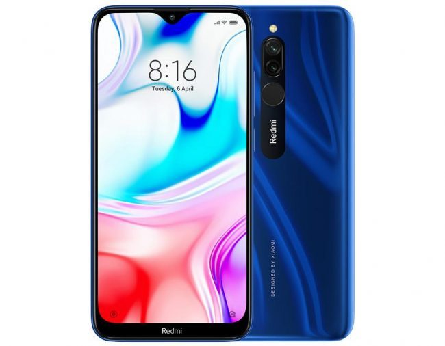 Смартфон Xiaomi Redmi 8 64Gb+4Gb Blue